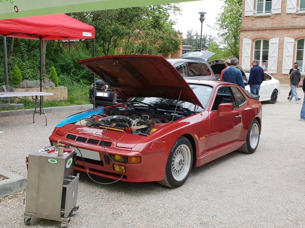 nettoyage moteur porsche 944